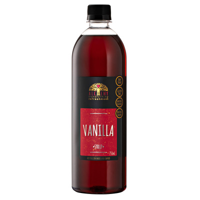 750ml Syrup VANILLA