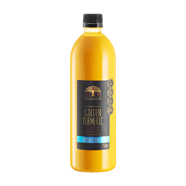 Unsweetened Golden Turmeric Elixir 750ml